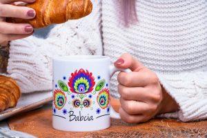 Mug tasse pour les Babcia Grand-mère en polonais